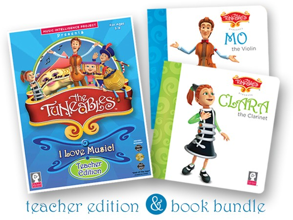 Classroom Bundle: The Teacher Edition plus Clara and Mo Book