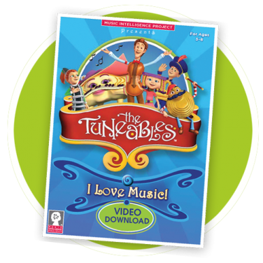 """The Tuneables: """"I Love Music!"""" Video"""
