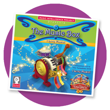 "The Music Box: ""I Love Music!"" CD"