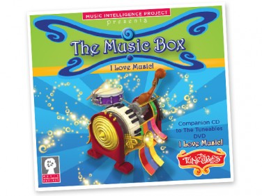 "The Music Box: ""I Love Music!"" CD"