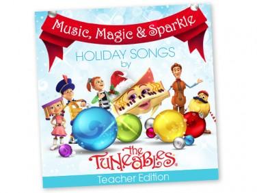Music, Magic & Sparkle Holiday Songs Teacher Edition