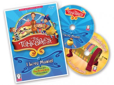 "The Tuneables: ""I Love Music!"" 2-disk set"