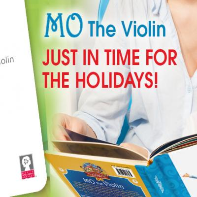 Mo the Violin is here just in time for the holidays!