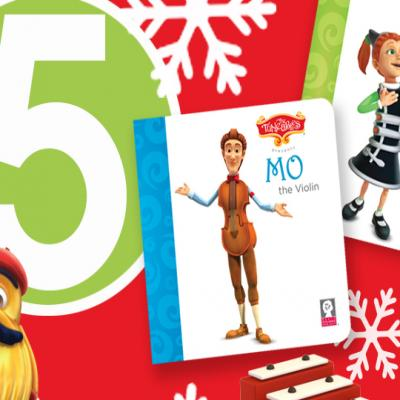 Top Five Holiday Musical Gifts for Young Children