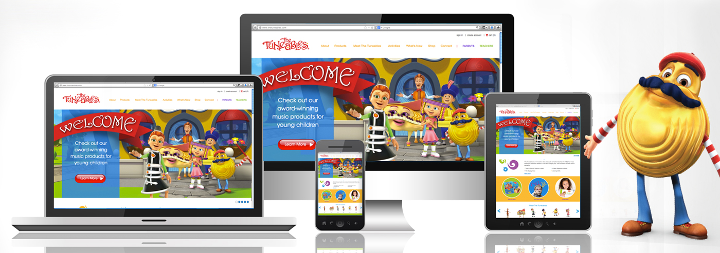 The Tuneables Launch New Website!